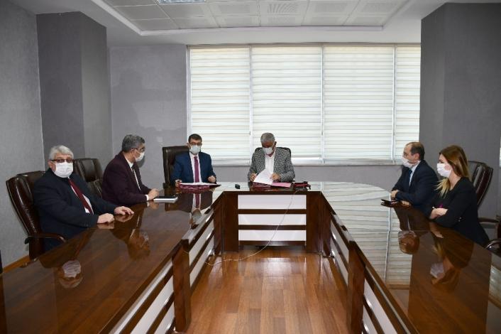 ATSO ile Halkbank arasında protokol imzalandı