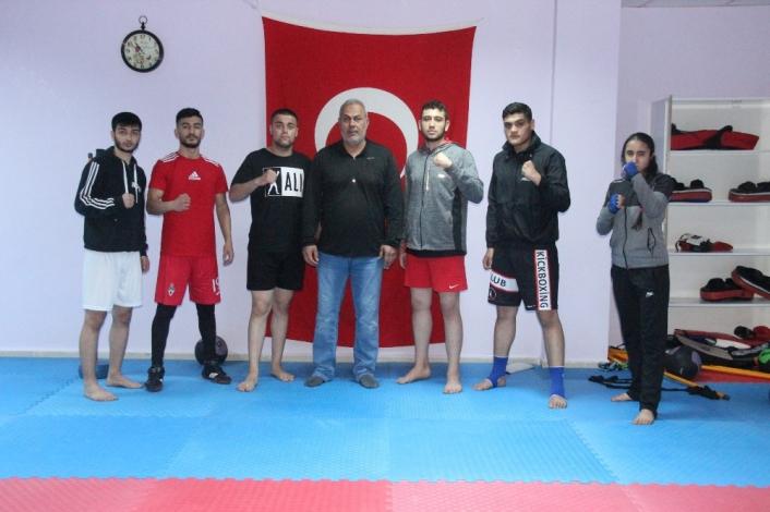Avrupa Kupası´na hazırlanan Elazığlı kick-boksçuların hedefi şampiyonluk