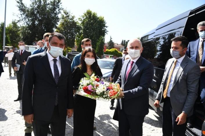 Bakan Karaismailoğlu, Malatya Büyükşehir Belediyesi´ni ziyaret etti