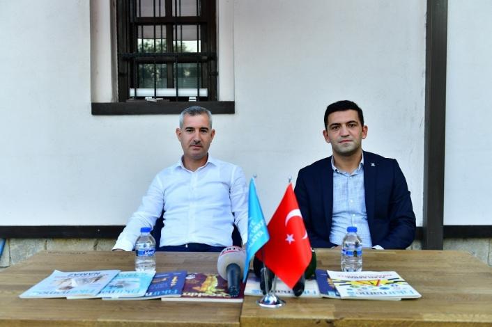 Başkan Çınar, `Açık Hava Söyleşi´ programına katıldı