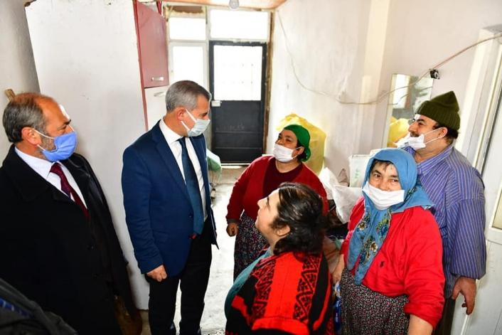 Başkan Çınar,  Mersedes Kadir´in ailesini yalnız bırakmıyor