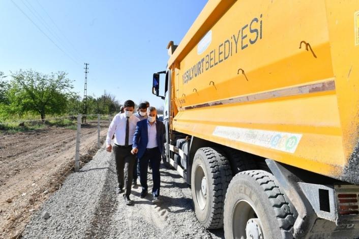Başkan Çınar, yatırımları inceledi, vatandaşların taleplerini dinledi