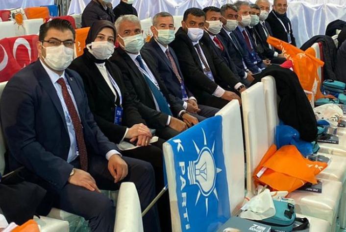 Başkan Güder, AK Parti 7.olağan kongresine katıldı