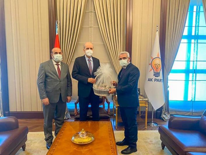 Başkan Güder´in Ankara programı yoğun devam ediyor