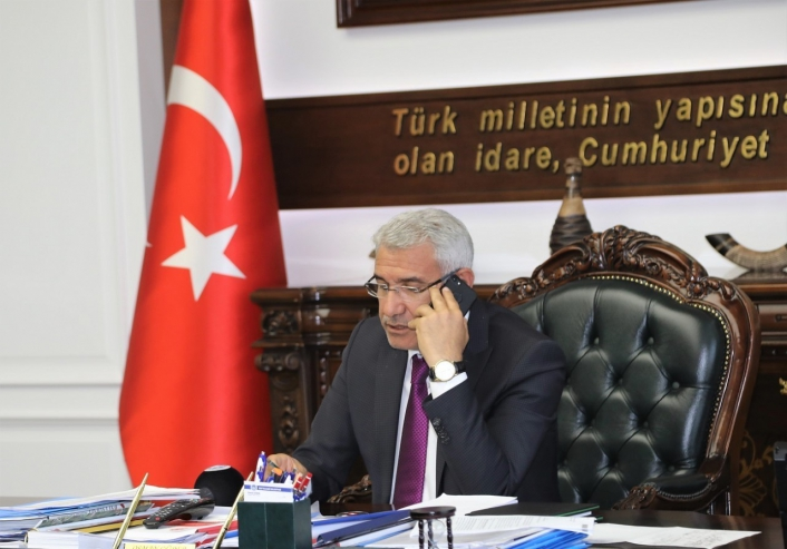 Başkan Güder, Tekstilkent Projesi´ni anlattı