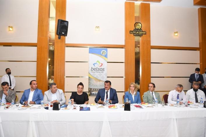 Başkan Gürkan´dan, STK temsilcileriyle gastronomi fuarı için istişare toplantısı