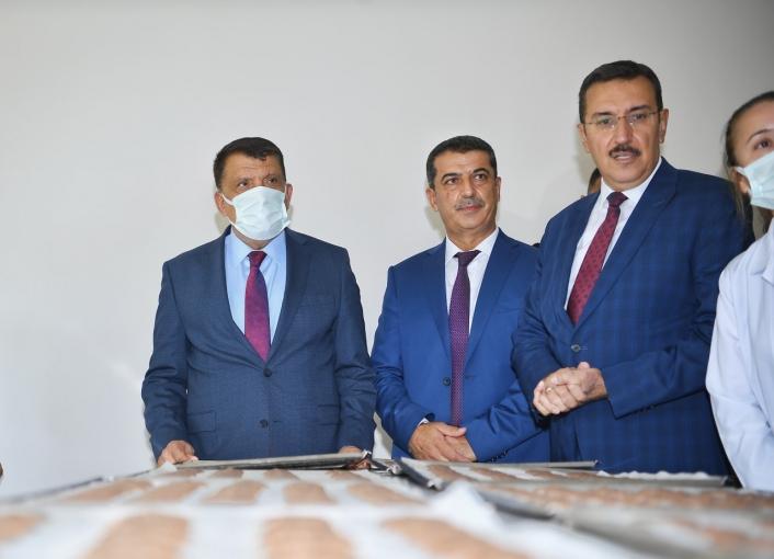 Başkan Gürkan, glütensiz bisküvi tesisi açılışına katıldı