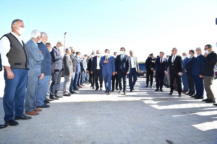 Başkan Gürkan Kuluncak´ta alt ve üst yapı çalışmalarını inceledi