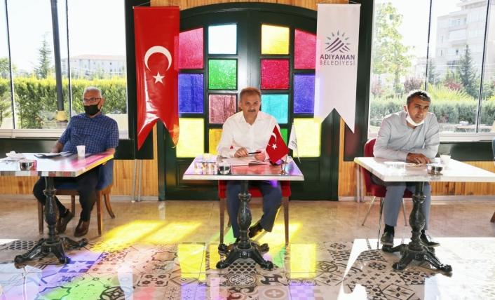 Başkan Kılınç, ekibiyle değerlendirme toplantısı yaptı