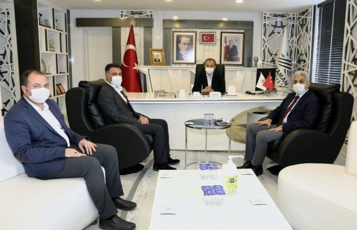 Başkan Kılınç, kurum yetkilileriyle istişarede bulundu