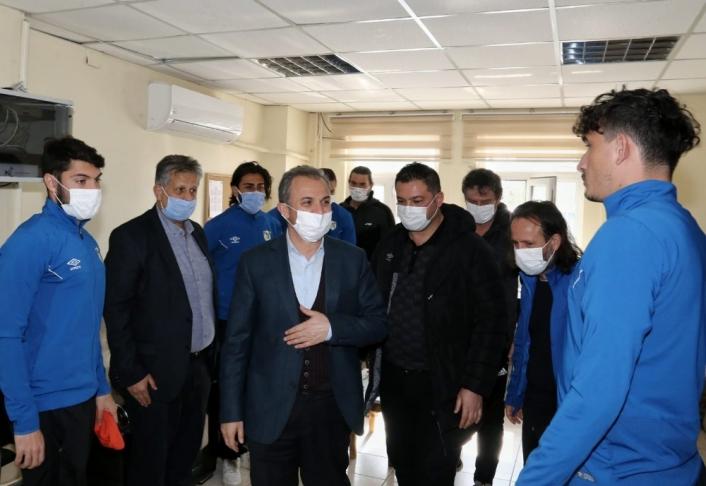 Başkan Kılınç, sporcularla bir araya geldi
