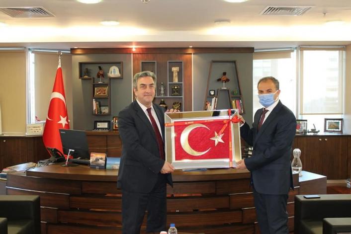 Başkan Kılınç, Türkiye Uzay Ajansını ziyaret etti