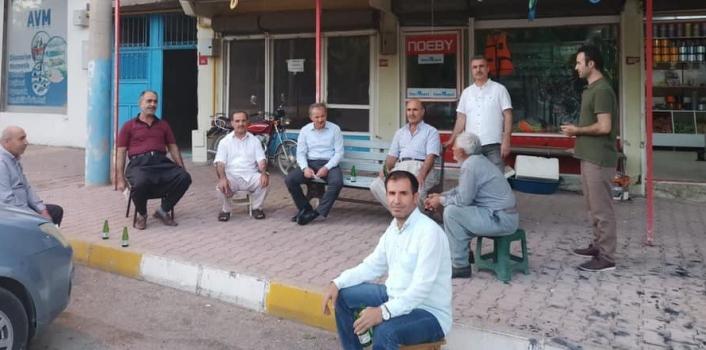 Başkan Kılınç, yapılacak çalışmaları mahalle sakinleriyle paylaştı