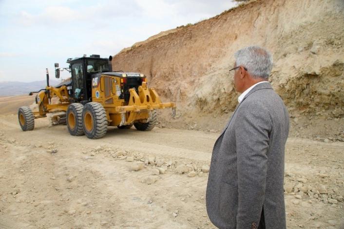Battalgazi Belediyesi 60 kilometre yeni imar yolu açtı
