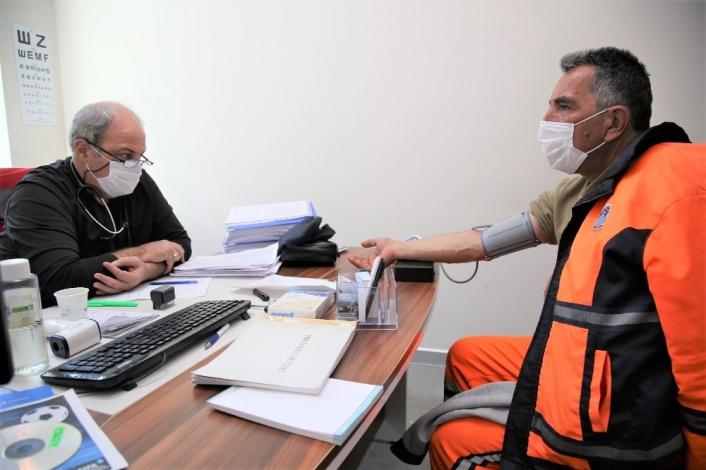 Battalgazi Belediyesi´nde öncelik iş sağlığı ve güvenliği