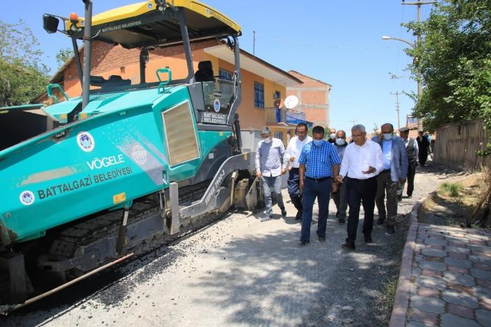 Battalgazi Belediyesi´nden 7 sokağa 2 milyon yatırım