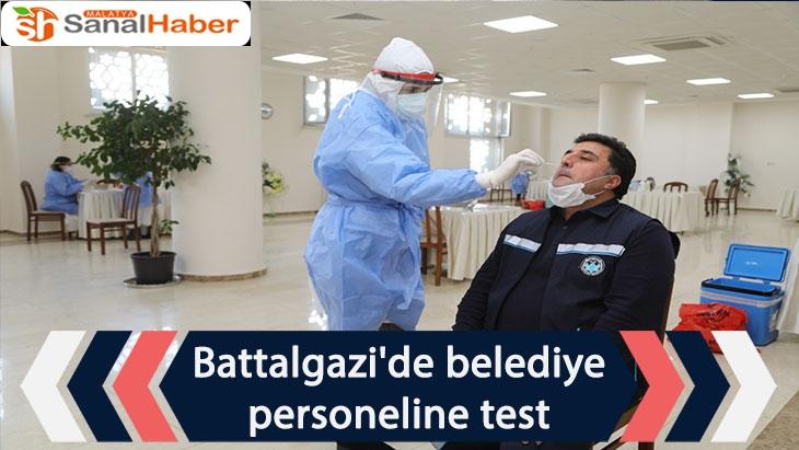 Battalgazi'de belediye personeline test