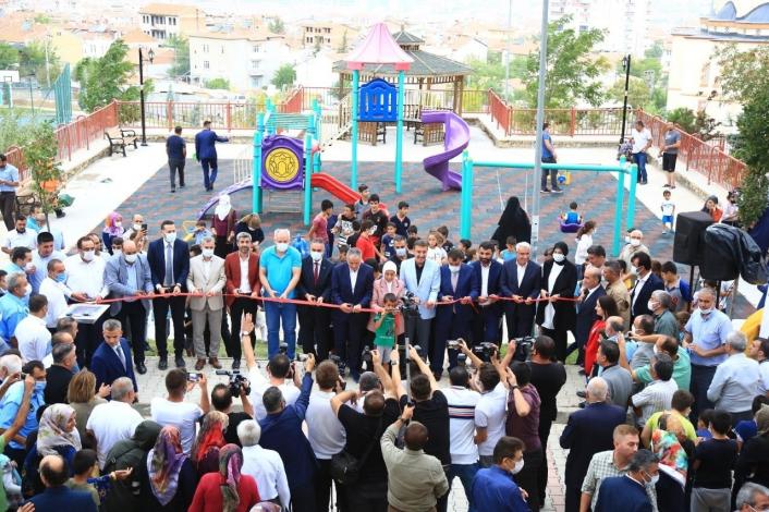 Battalgazi´de revize edilen 32 park hizmete sunuldu