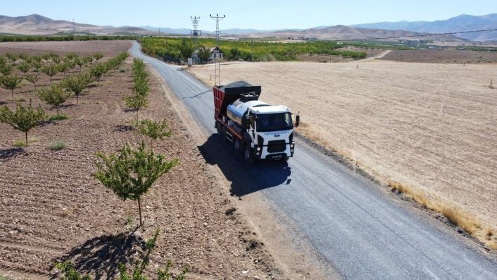 Battalgazi´deki kırsalda asfaltsız yol kalmıyor