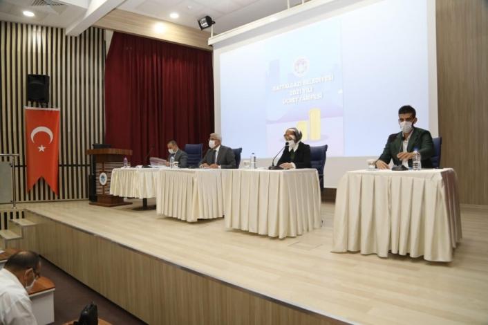 Battalgazi Meclisi ekim ayı toplantıları