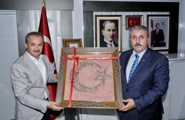BBP Genel Başkanı Destici´den, Başkan Kılınç´a ziyaret