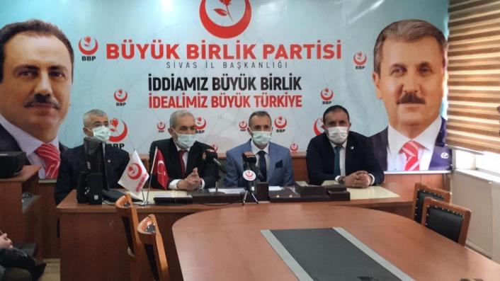 BBP Merkez ilçe başkanlığına atanan Pınarlı görevine başladı
