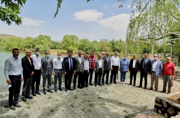 Belediyeler birliği Filistin için ortak bildiri yayımladı