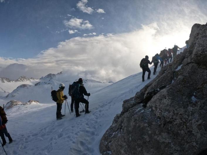 Berit Dağı zirvesinde şehitleri andılar
