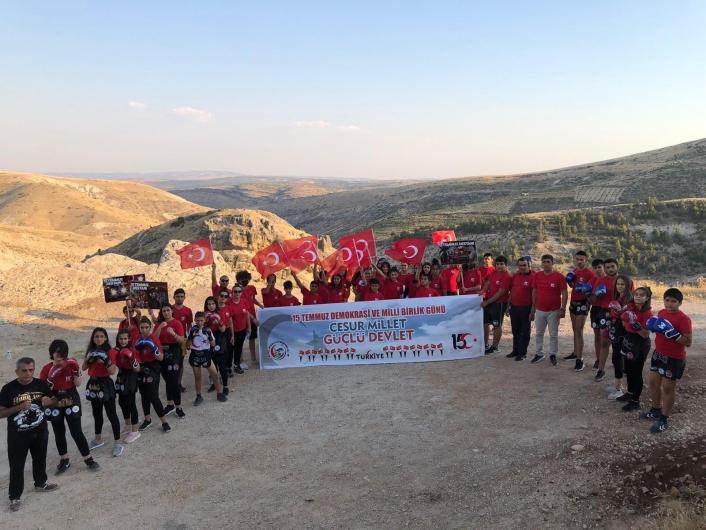 Besni´de Milli Birlik ve Dayanışma Günü etkinlikleri düzenlendi