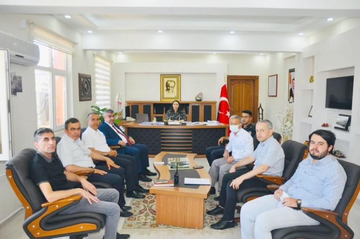 Besni´de sınav koordinasyon kurulu toplandı