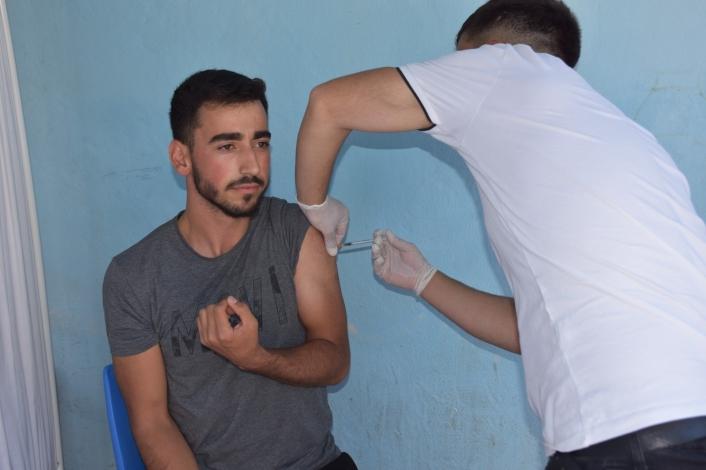 Bingöl´de aşı seferberliği başlatıldı