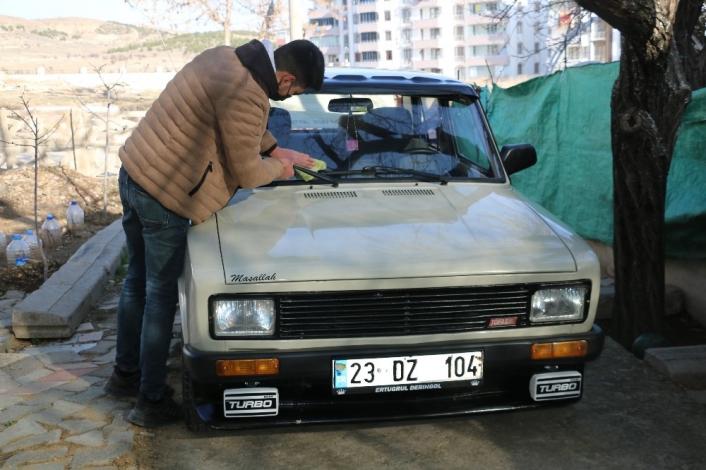 Bu araç 27 yaşında sadece 50 bin kilometre yol yaptı
