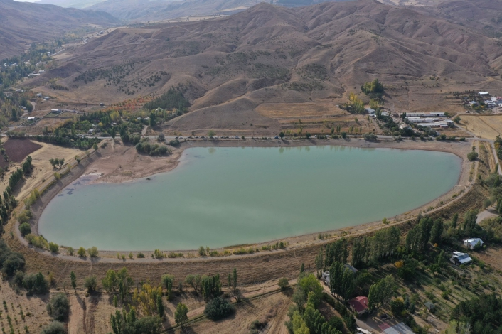 Bu gölet hem turizme hem de tarıma hizmet verecek