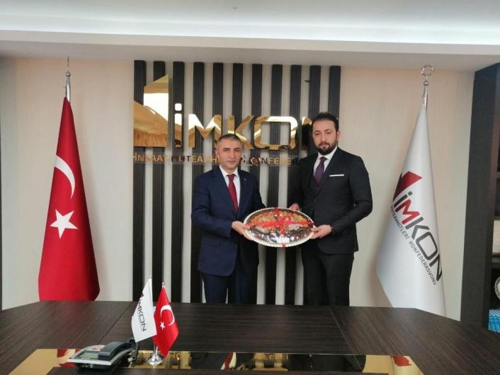 Bülbüloğlu, İnşaat Müteahhitler Konfederasyonu yönetiminde