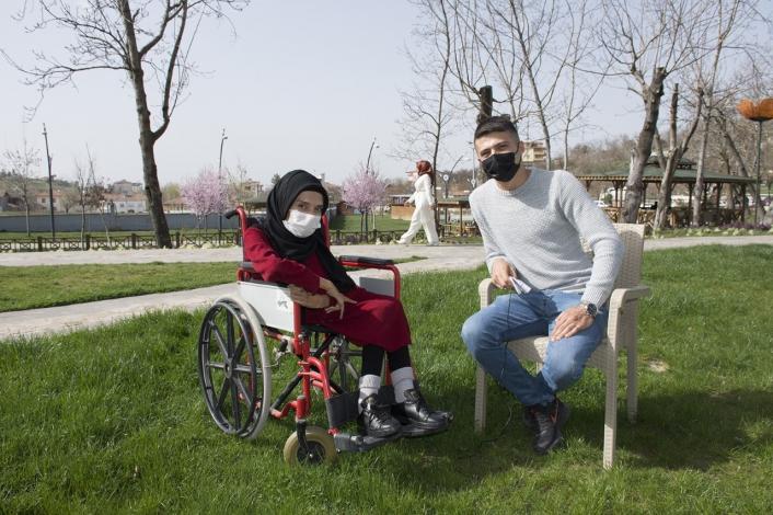 Büyükşehir Belediyesi engelli ve yaşlı vatandaşları yalnız bırakmıyor