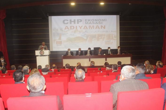 CHP ekonomi masası heyeti STK temsilcileriyle bir araya geldi