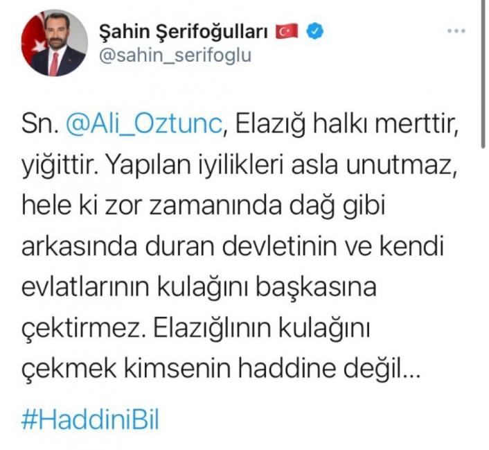 CHP Genel Başkan Yardımcısı Öztunç´a