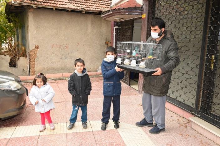 Çocukların hayallerini Battalgazi Belediyesi gerçekleştirdi