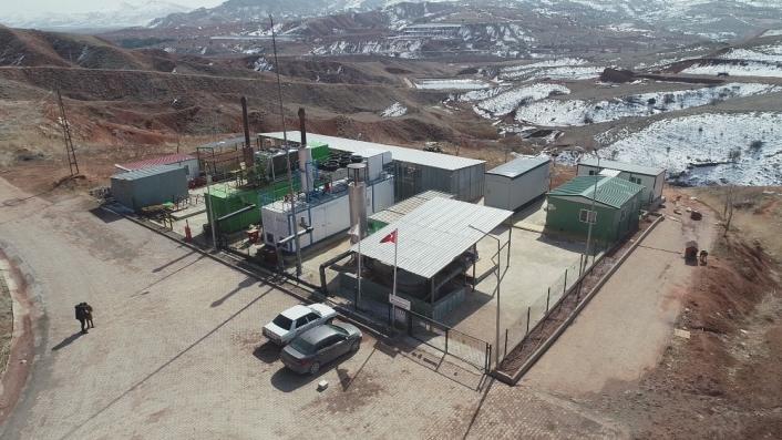 Çöpten elektrik üretip 5 milyon lira tasarruf ettiler
