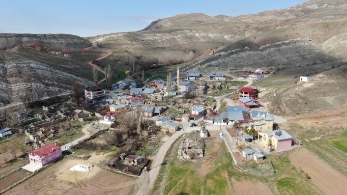 Covid-19´un giremediği bu köyde aşılama tamamlandı