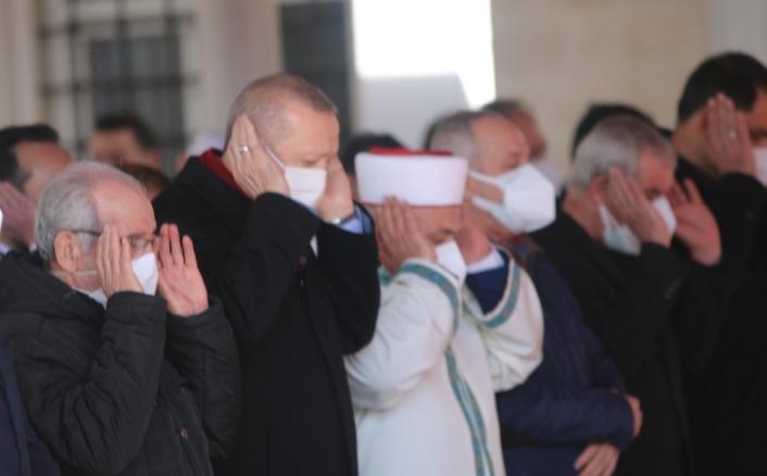 Cumhurbaşkanı Erdoğan, Hafız Abdullah Nazırlı´nın cenaze namazına katıldı