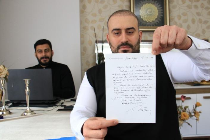 Cumhurbaşkanı Erdoğan´ın gönderdiği mektup 22 yıl sonra ortaya çıktı