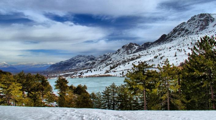 Değirmendere Göleti doğal güzelliğiyle ilgi çekiyor