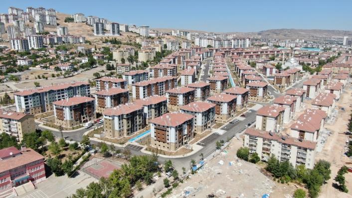 Deprem sonrası Elazığ´da 24 bin 83 konut inşa edildi