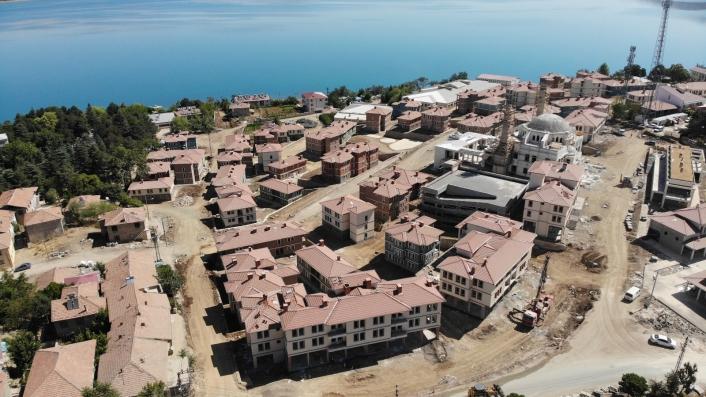 Depremin merkezi Sivrice´deki TOKİ konutlarında sona gelindi