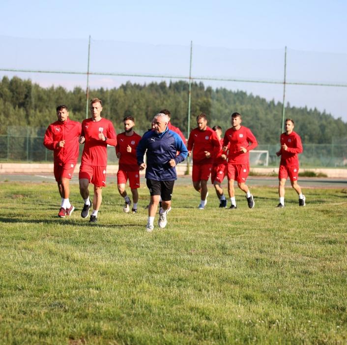 DG Sivasspor sabah koşusu yaptı