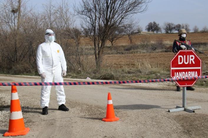 (Düzeltme ) Elazığ´da Covid-19 görülen köy karantinaya alındı