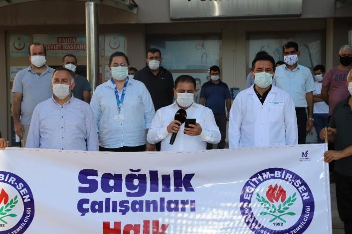 Eğitimcilerden sağlık çalışanlarına destek