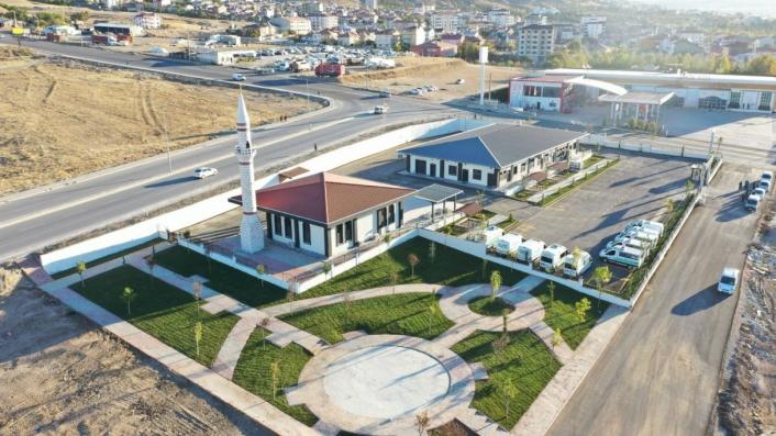 Elazığ Belediyesi Mezarlıklar Müdürlüğü´nün yeni hizmet binası açılıyor