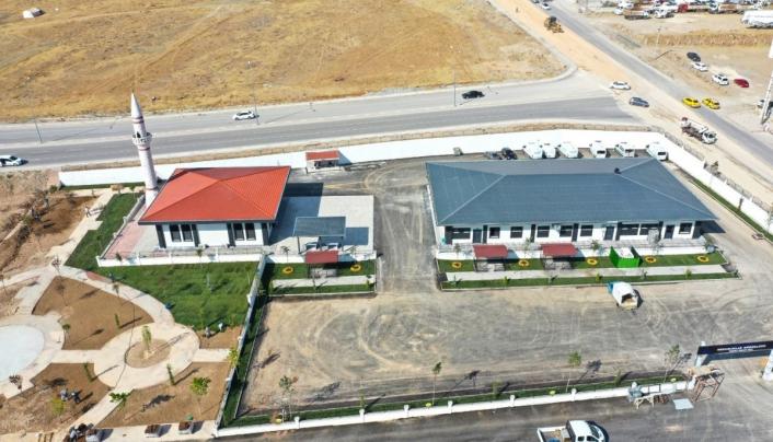 Elazığ Belediyesi Mezarlıklar Müdürlüğü yeni hizmet binası tamamlandı